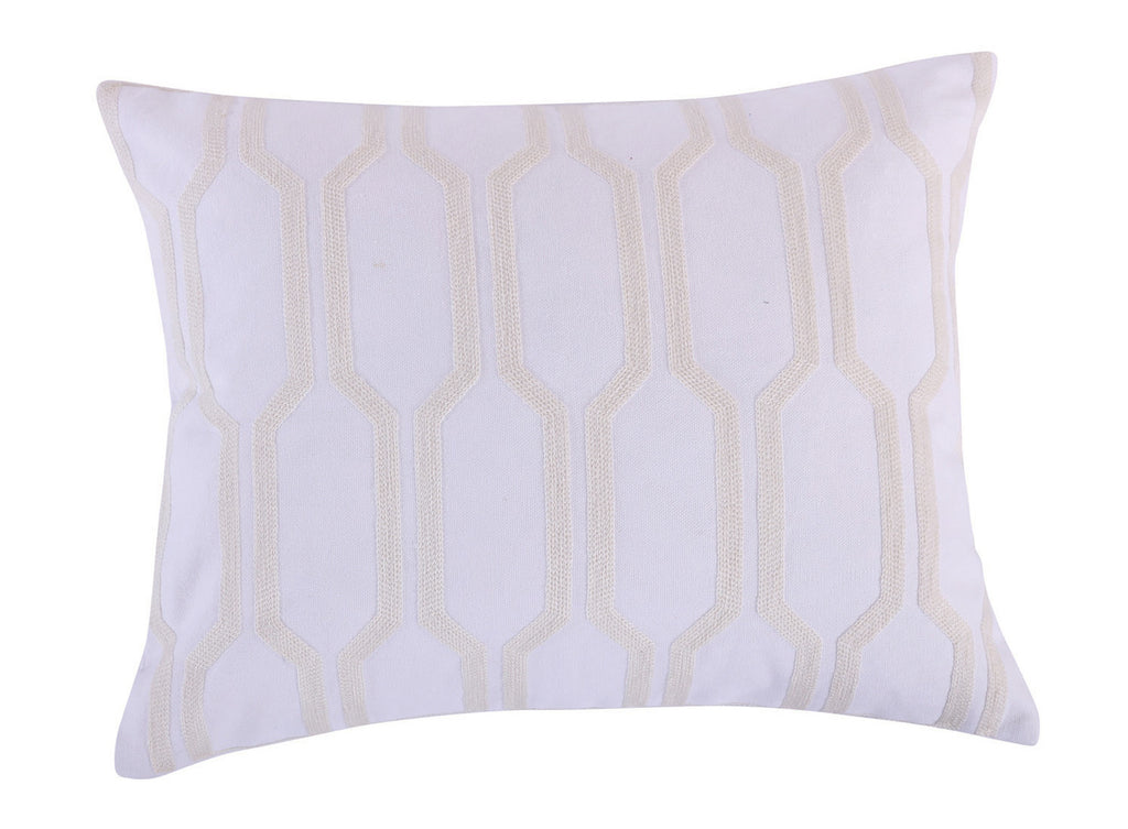 Spruce Spa Crewel Pillow