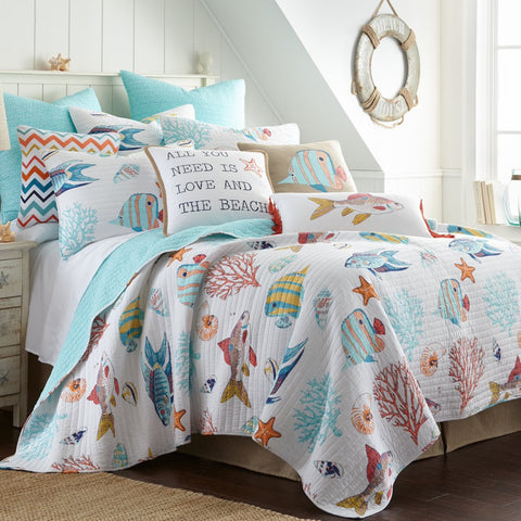Barrier Reef Quilt Set