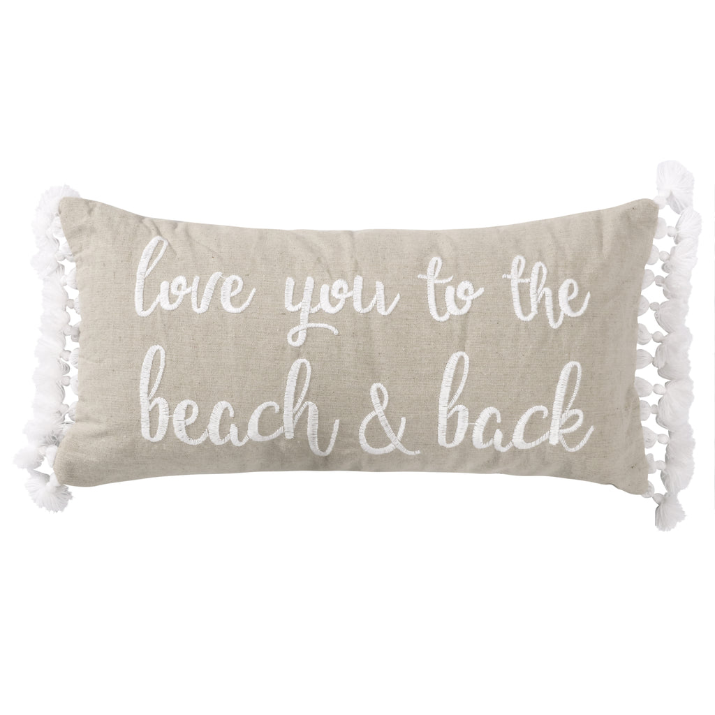 Beacon Beach and Back Pillow