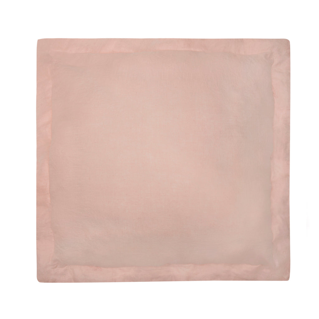 Washed Linen Euro Sham- Blush