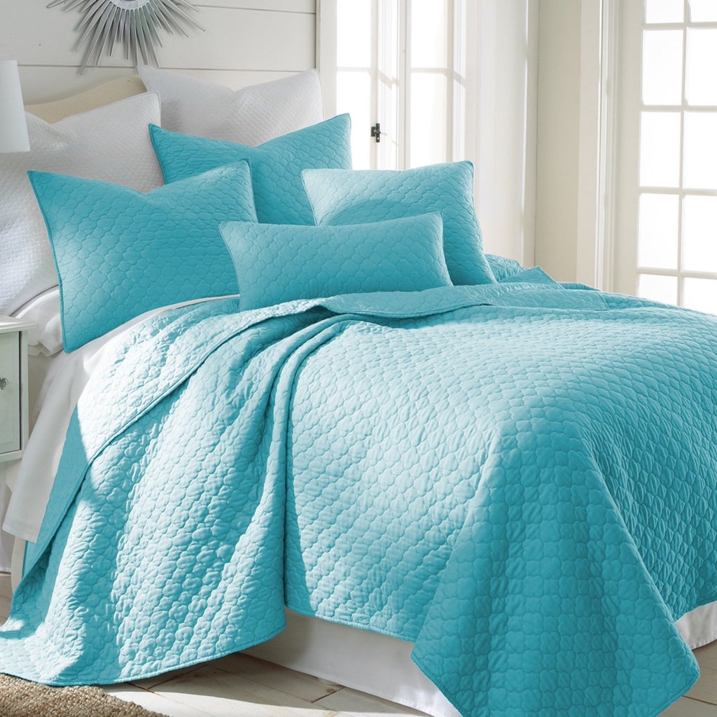 Bordeaux Teal Quilt Set