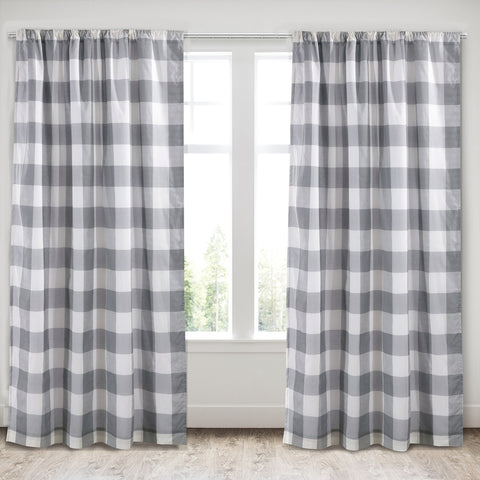 Camden Gray Drape Panel
