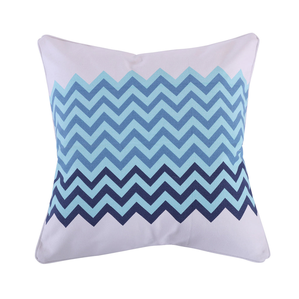 Camps Bay Chevron Pillow