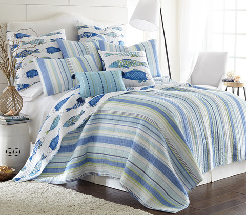 Catalina Fish Quilt Set