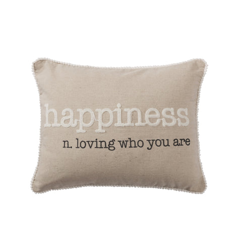 Chariton Happiness Pillow