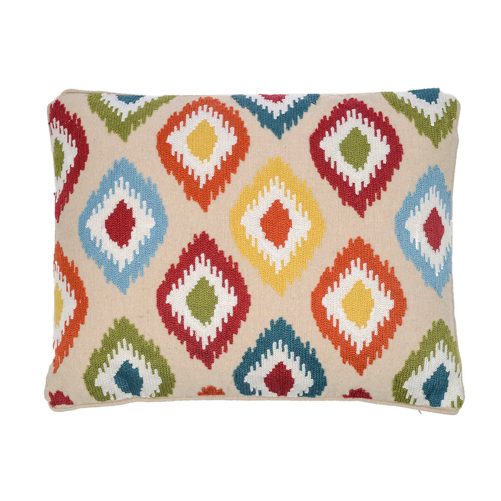 Clementine Ikat Pillow 14x18