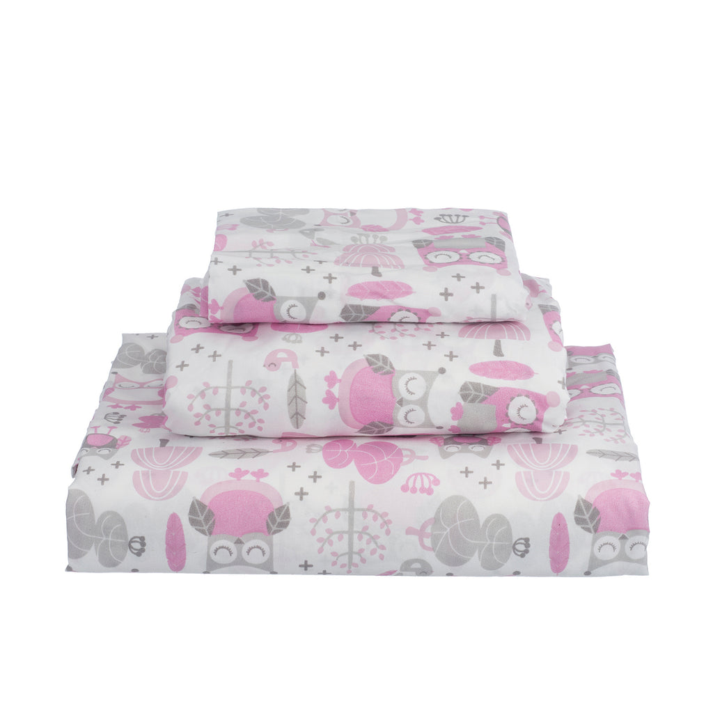 Daniella Owl Full  Sheet Set