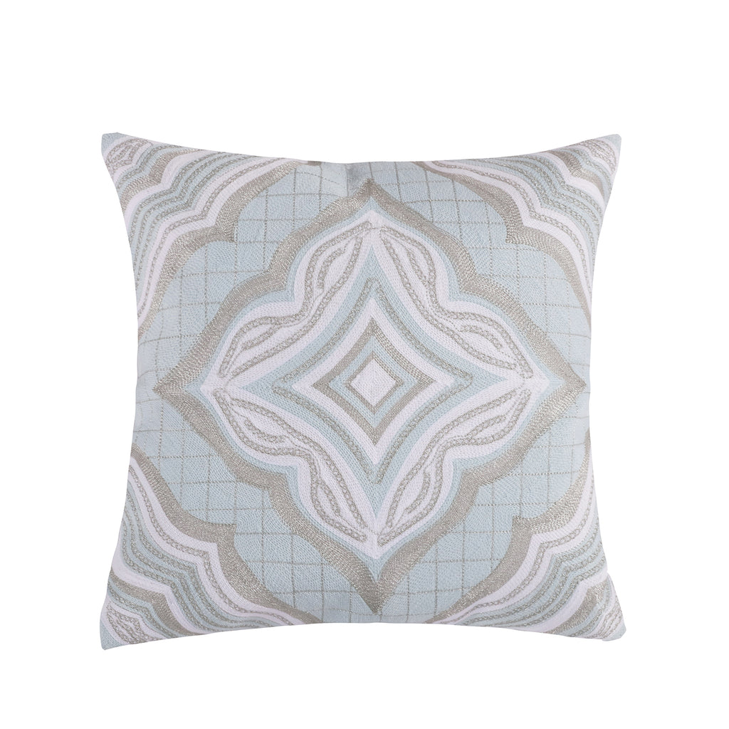 Darcy Medallion Tile Pillow