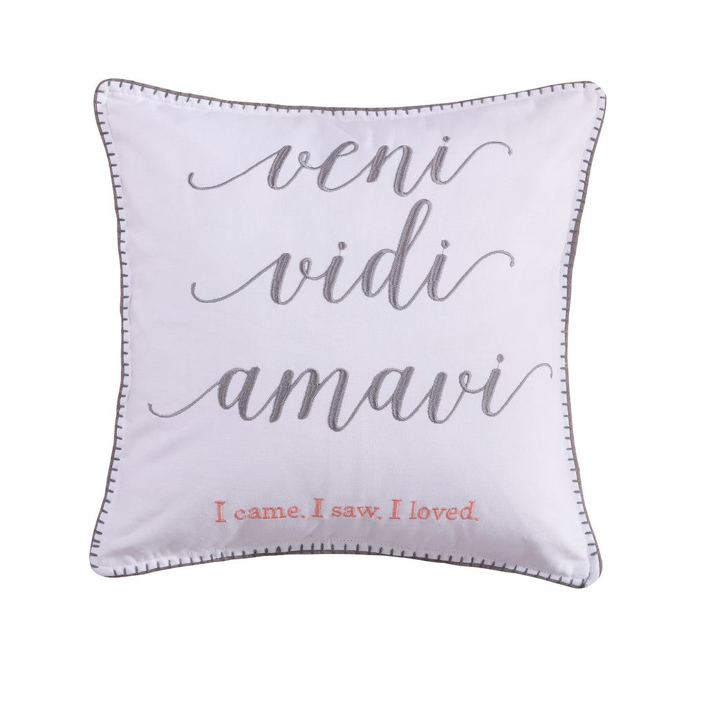 Darcy Veni Vidi Pillow