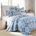 Essella Indigo Euro Sham, Set of 2