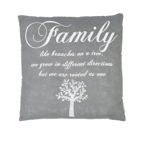 Family Grey Linen Ground