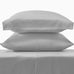 Grey Sateen Sheet Set