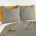 Beckett Taupe Euro Sham Set of 2