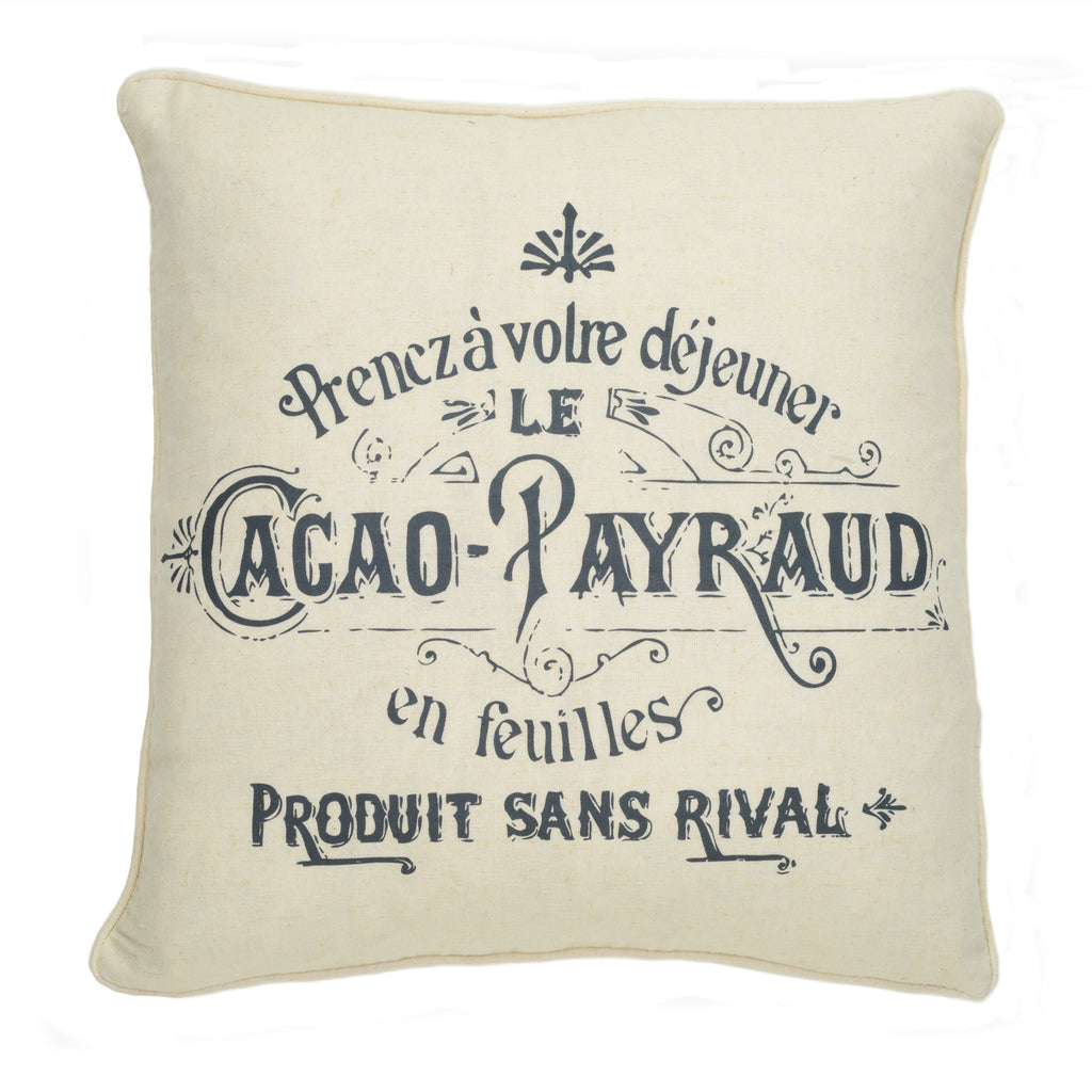 Histoire Cacao Pillow