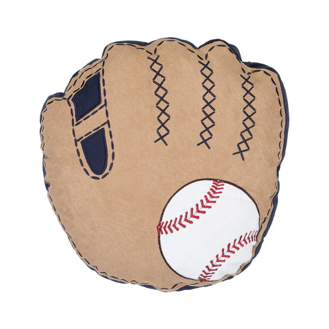 Glove and Ball Pillow