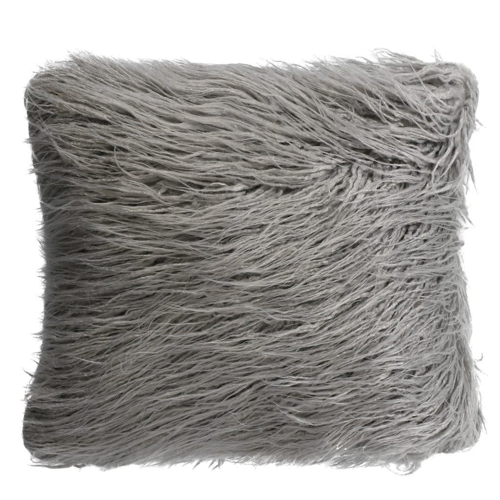 Josie Spa Mohair Grey Pillow