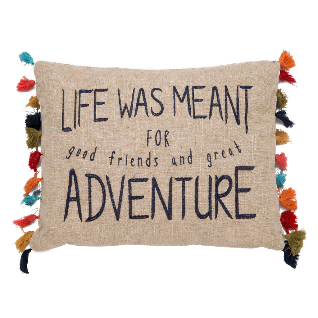 Karia Life Was Meant For Adventure Pillow