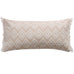 Addie Cream Diamond Fringe Pillow