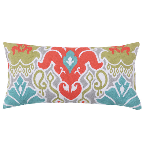 Deniza Crewel Multi Pillow