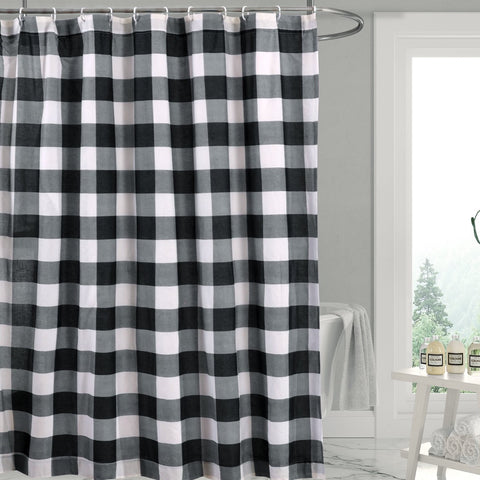 Camden Black Shower Curtain