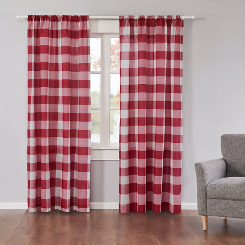 Camden Drape Panel Red