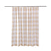 Camden Taupe Shower Curtain