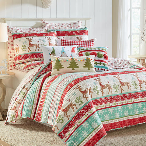 Let It Snow Quilt Set