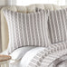 Tanzie Grey Euro Sham Set of 2