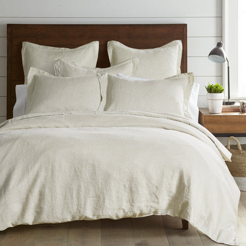 Washed Linen Natural Duvet