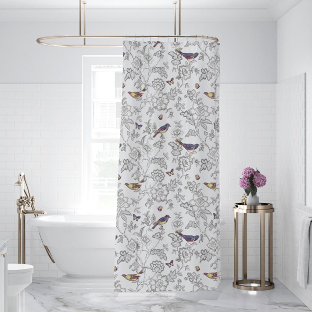 Mockingbird Shower Curtain