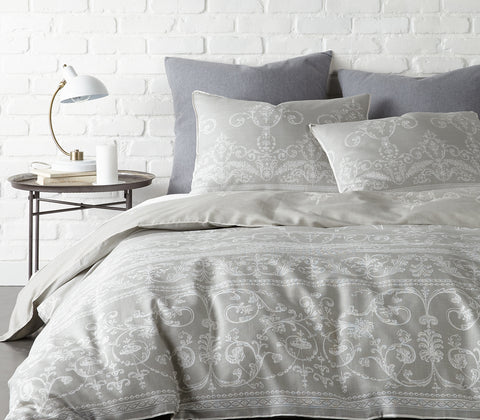 Belvedere Grey Duvet Set