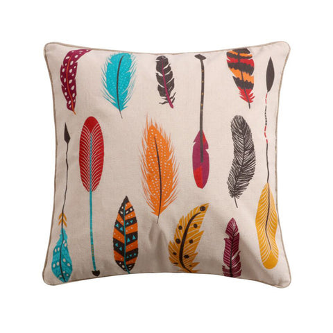 Sarina Feathers Multi Pillow