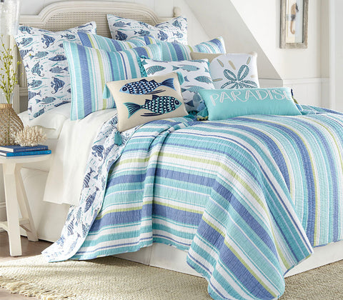 Laida Beach Quilt Set