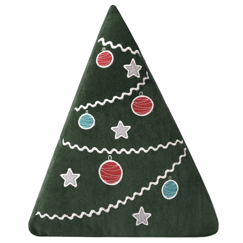Santa Claus Lane Christmas Tree Pillow