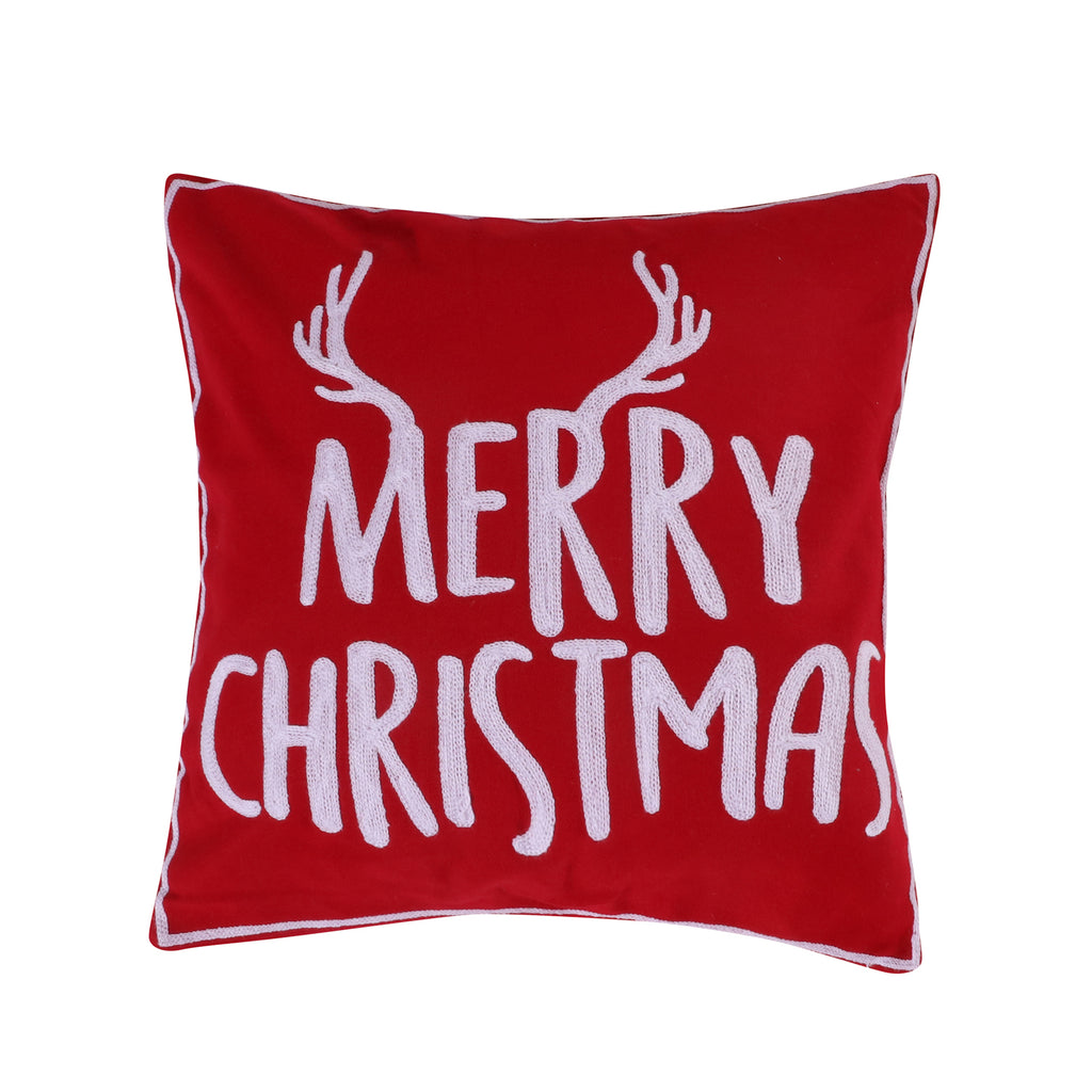 Rudolph Merry Christmas Pillow