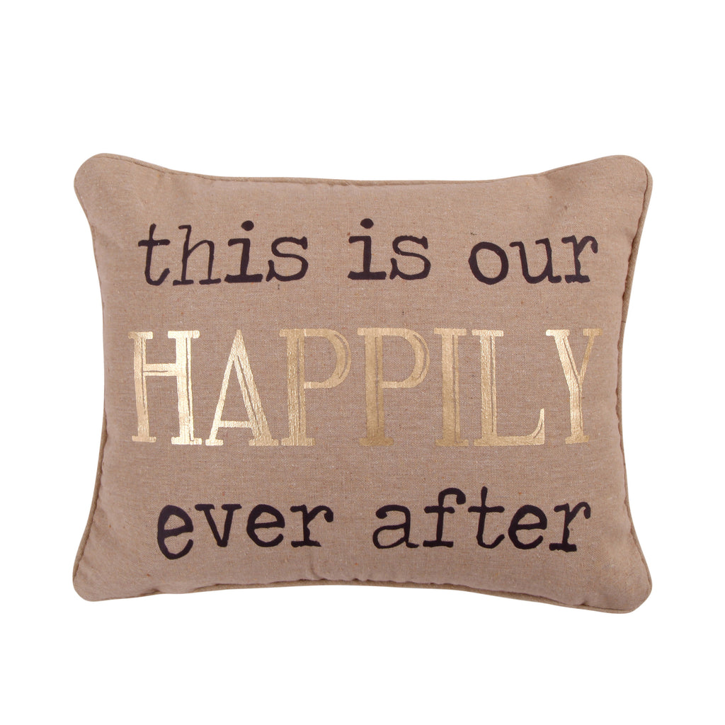 Lodge Happily Ever After Pillow