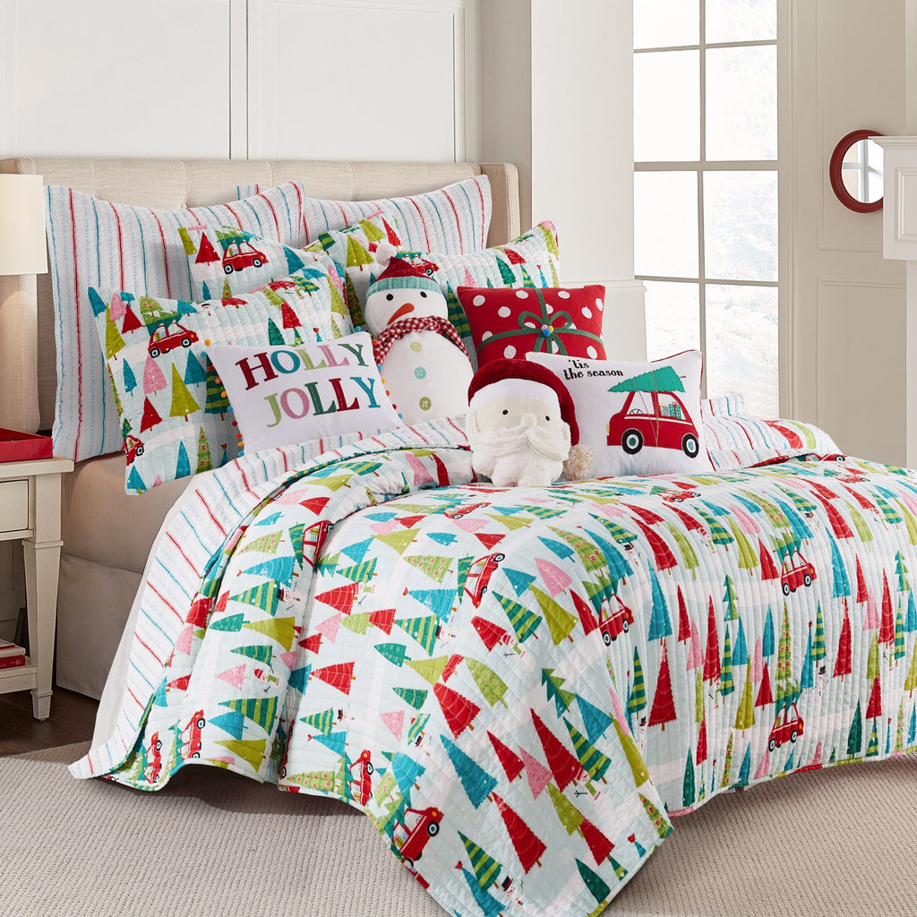 Merry & Bright Holly Jolly Quilt