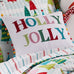 Merry & Bright Holly Jolly Pom Pillow