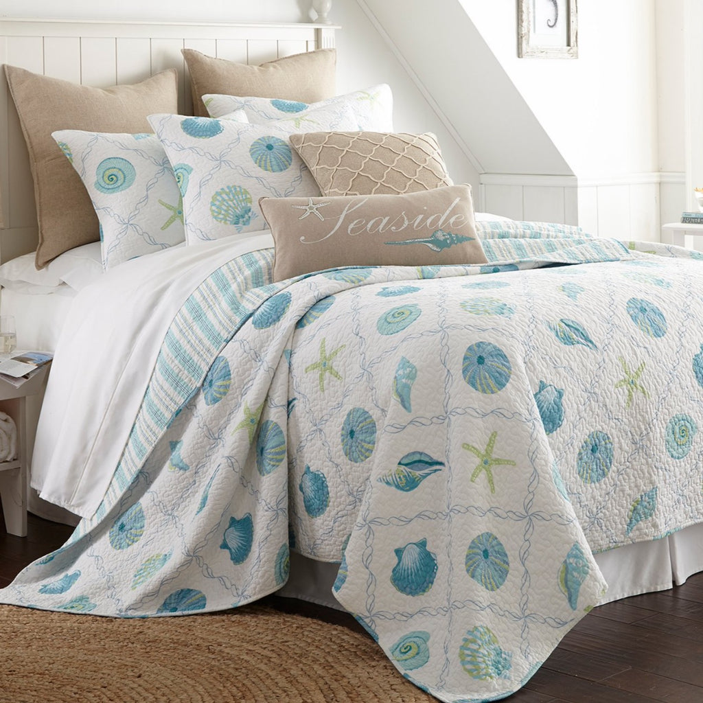 Marine Dream Seaglass Quilt Set