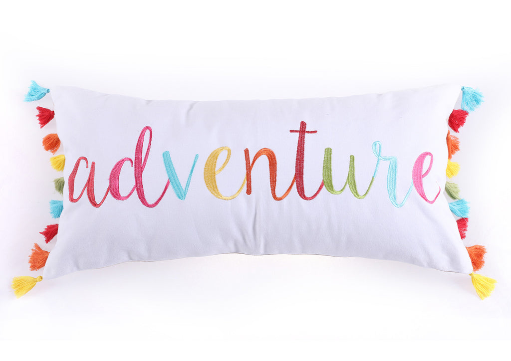 Mayla Adventure Tassels Pillow