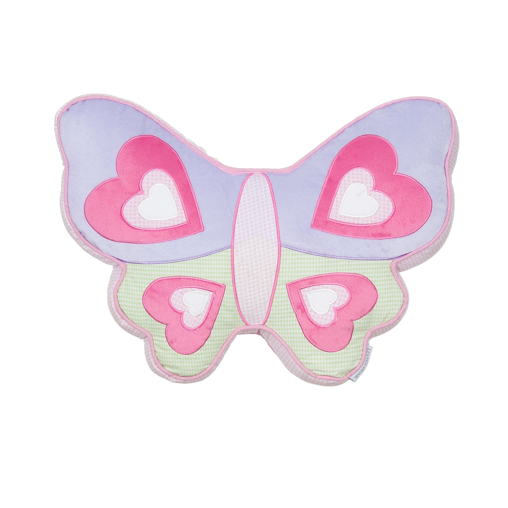 Merrill Girl Butterfly Shaped Pillow