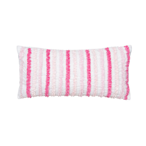 Merrill Girl Ruffled Pillow