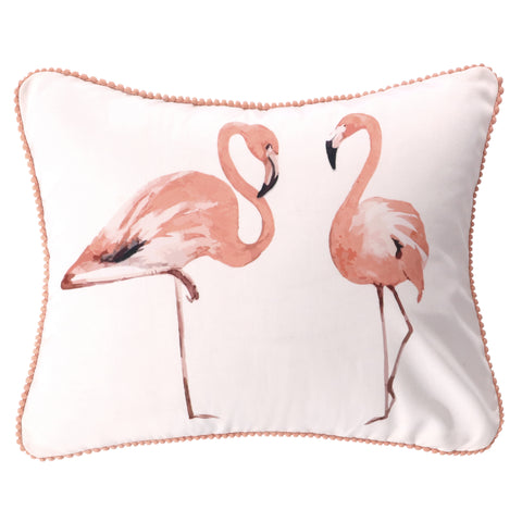 Mina Flamingos Pillow