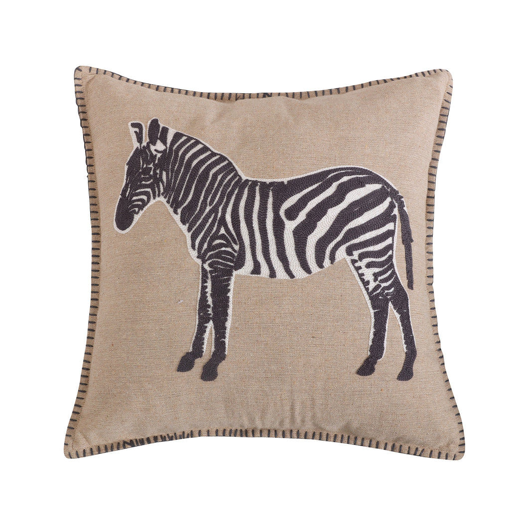 Mirage Zebra Pillow