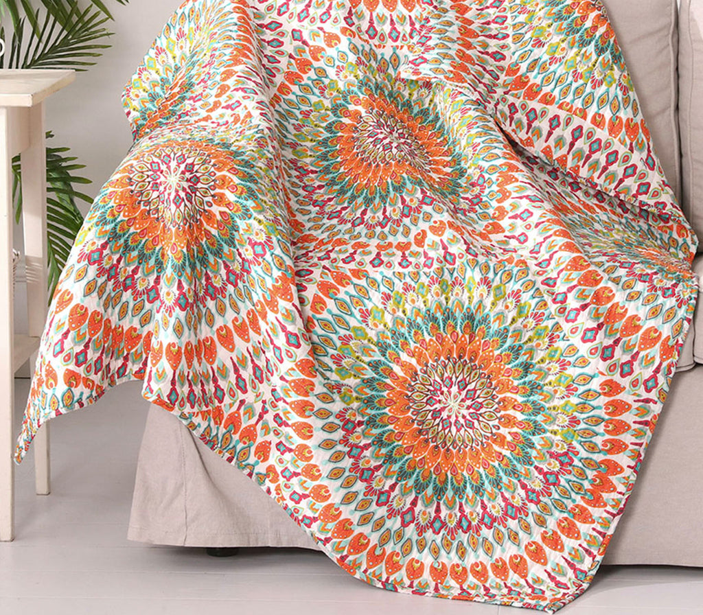 Mirage Quilted Throw