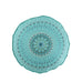 Mirage Teal Round Pillow