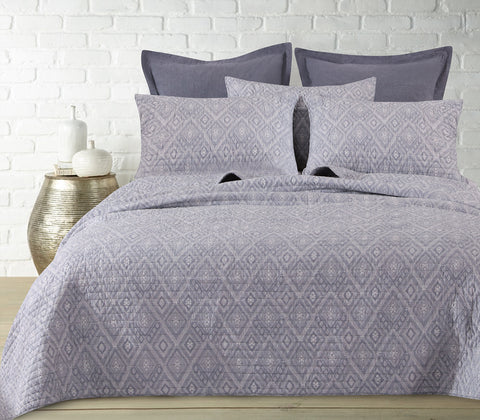 Mojave Grey Quilt Set