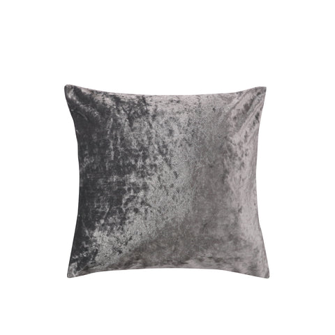 Crushed Champagne Velvet Pillow