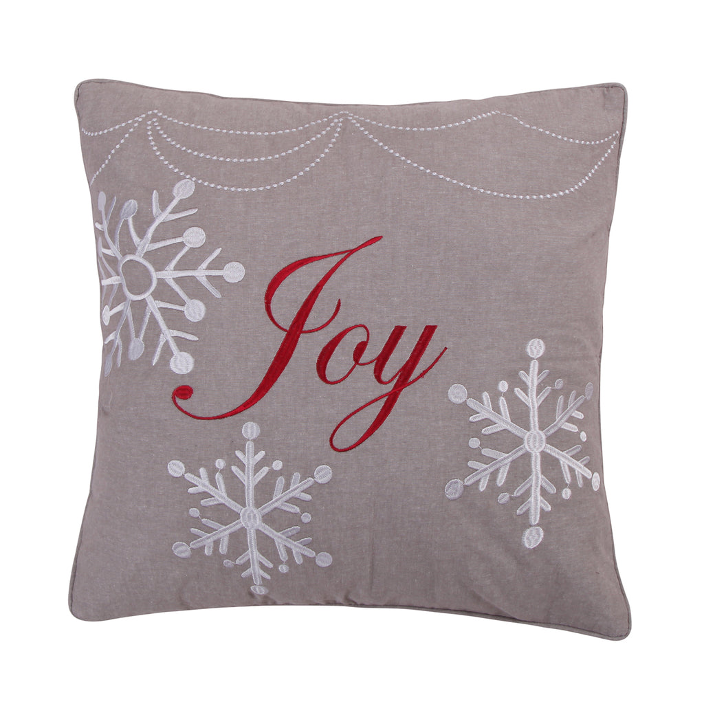 Silent Night Joy Pillow