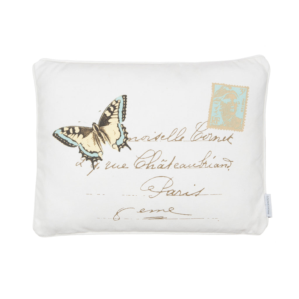 Palladium Butterfly Pillow